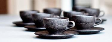 Estas tazas ecológicas están hechas con sobras de café molido
