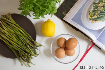 Ensalada de espárragos - ingredientes