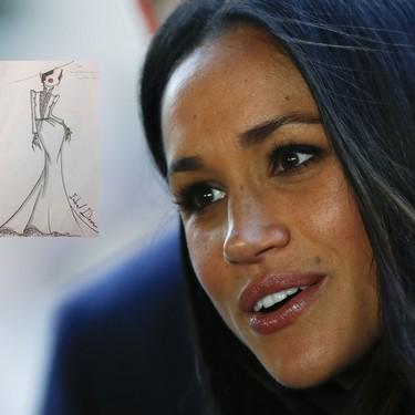 Empiezan las filtraciones sobre el vestido de novia de Meghan Markle: ¿será Inbal Dror la elegida?
