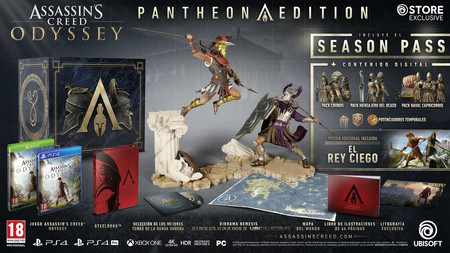Assassins Creed Odyssey Pantheon Edition