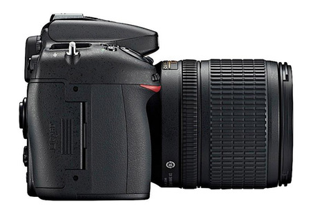 Nikon D7100 vista lateral