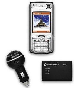 Navman Mobile, GPS para S60 con función NavPix