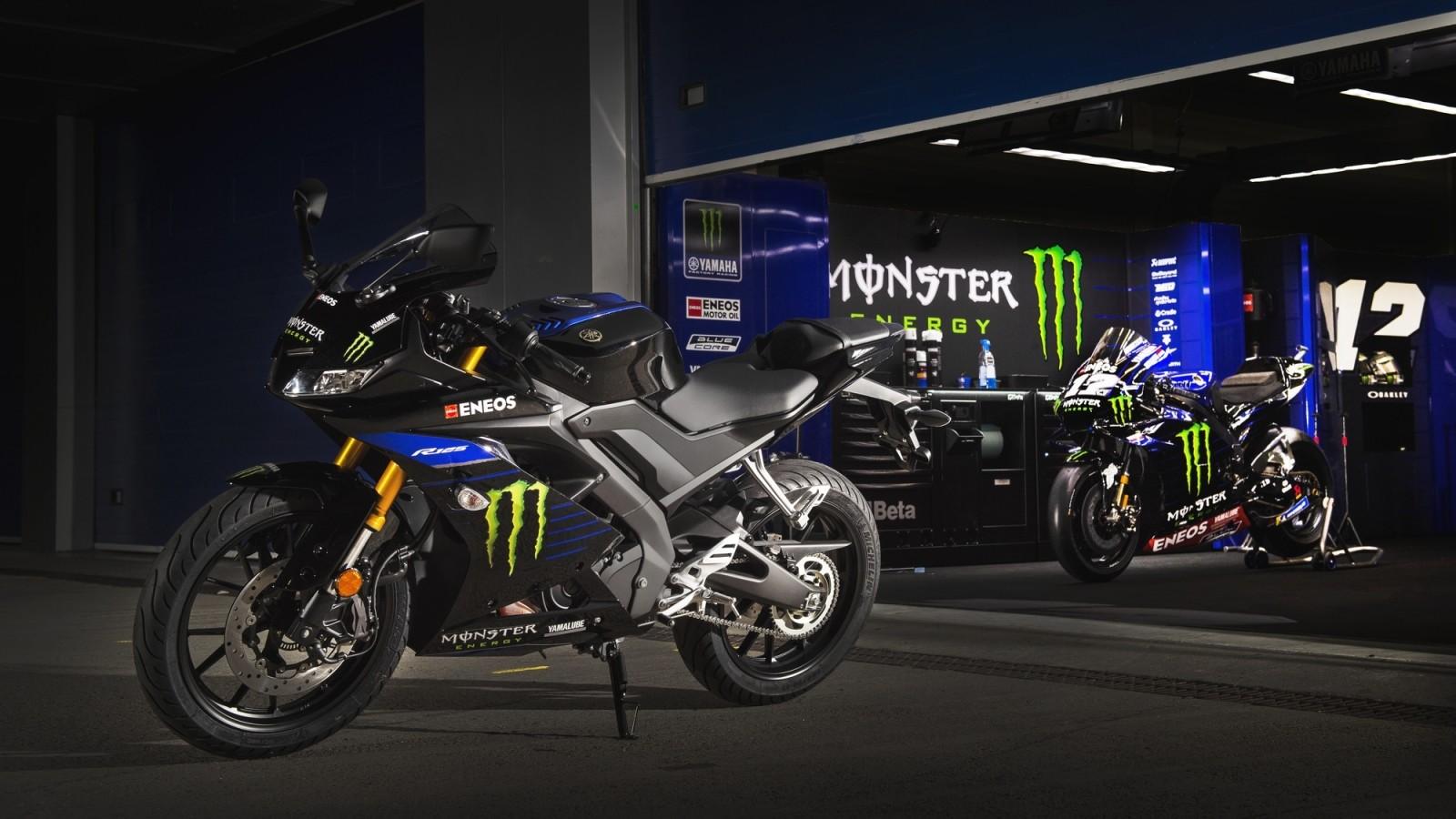 Foto de Yamaha YZF-R125 Monster Energy Yamaha MotoGP 2019 (2/10)