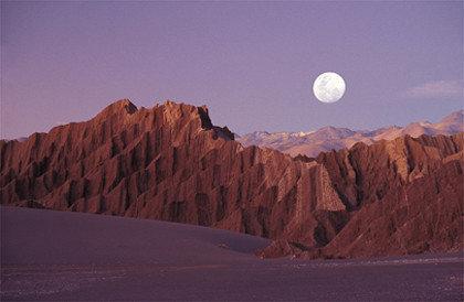 La foto de la semana: Valle de la luna en el desierto de Atacama
