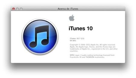 iTunes 10.7, ya disponible para descargar #KeynoteiPhone5