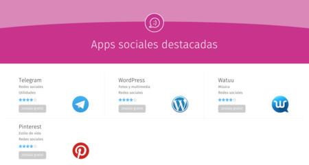 Apps sociales destacadas en Firefox OS
