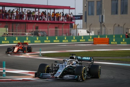 Hamilton Leclerc Abu Dabi F1 2019