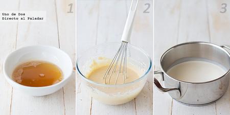 Helado de mantequilla. Receta paso a paso
