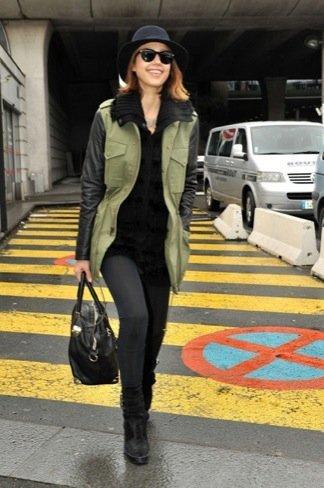 Jessica Alba aeropuerto