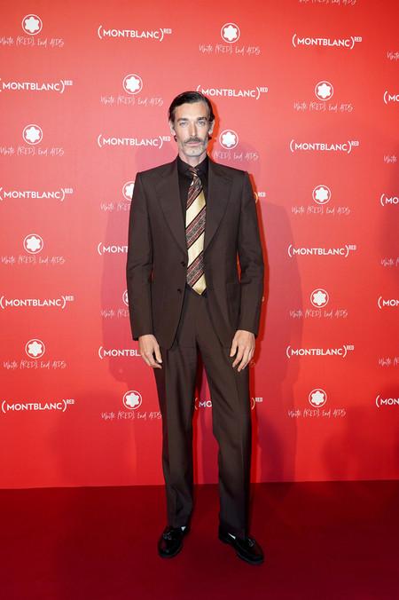 El Perfecto Toque Retro Para El Look De Otono Lo Ha Llevado Richard Biedul En La Gala De Montblanc 03