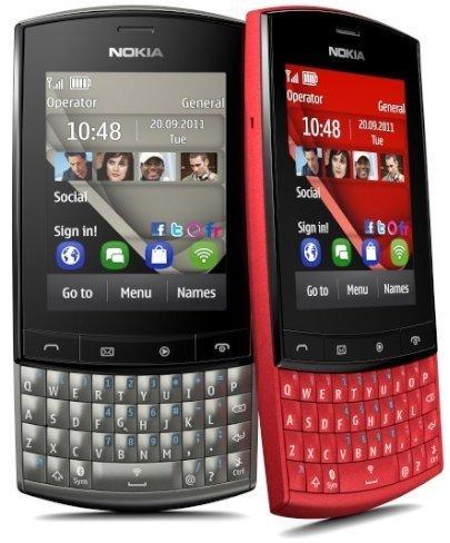 Presentan el Nokia Asha 303 con el concurso Qwerty Me