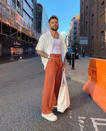 El Mejor Street Style De La Semana El Naranja Se Impone Como El Color De Transicion De Temporada 11
