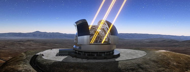 Un telescopio terrestre ha conseguido imágenes tan nítidas tan las del Hubble por primera ocasión reconocimiento a la tomografía láser