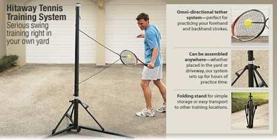 Practicar tenis dentro de la casa