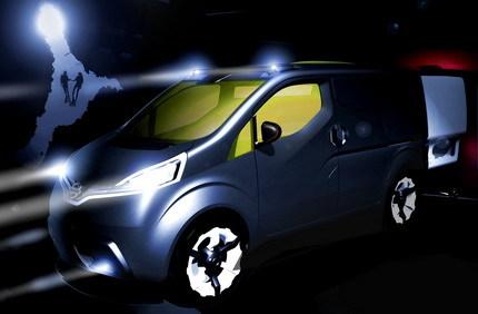 Nissan NV200, el prototipo de furgoneta del futuro