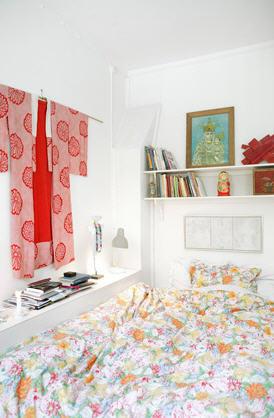 Una buena idea: un kimono para decorar