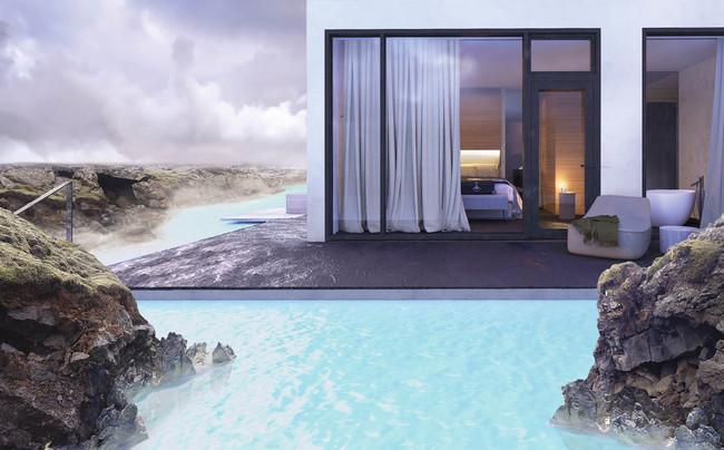 El Blue Lagoon Tendra Su Propio Hotel De Lujo Dentro De Un Flujo De Lava