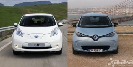 Nissan LEAF y Renault ZOE, la contienda por el trono de los coches eléctricos ha comenzado