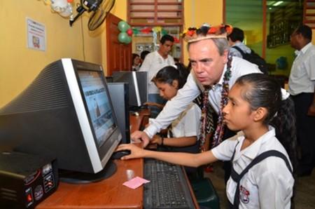La fibra óptica de Telefónica llega al Alto Amazonas