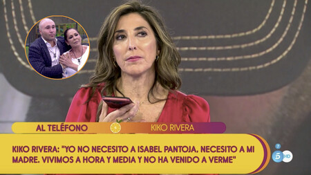 """Kiko Rivera entra en Sálvame para declararle la guerra a la Pantoja: """"que mi madre dé la cara porque no tiene perdón de Dios"""""""