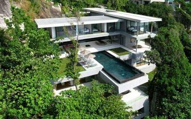 Villa Amanzi, el placer de las alturas en la Isla de Phuket