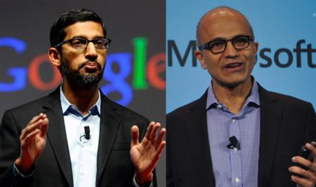 Google y Microsoft entierran el hacha de guerra de las patentes tras cinco años de juicios