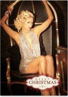 Portada de película porno y felicitación navideña de Paris Hilton ¿quién encuentra la diferencia?