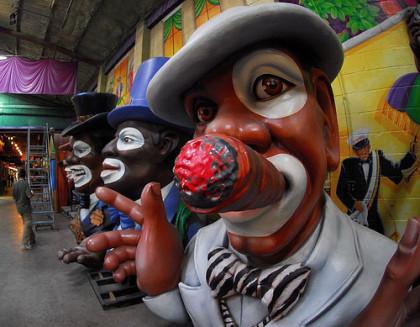 Figuras del Mardi Gras