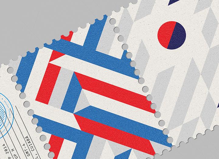 Foto de World Cup Stamps 2014 (38/45)