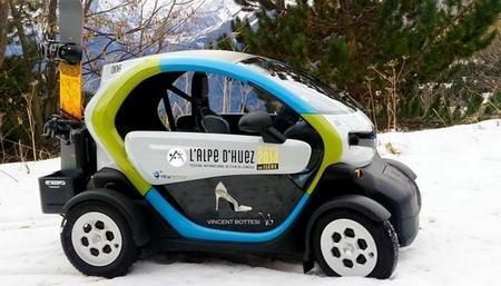 El carsharing eléctrico también llega a la estación de esquí de Alpe d'Huez