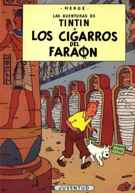 2456330 Tintin Los Cigarros Del Faraon 4 1934 P Gina 1