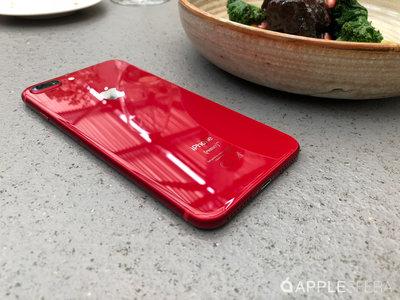 Así es el iPhone 8 Plus (RED)