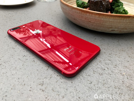 Así es el iPhone 8 Plus (RED)