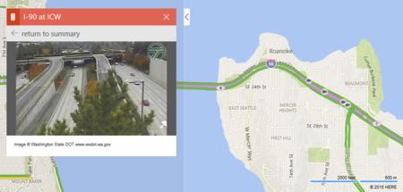 Bing Maps no es la única: así se están usando las cámaras de tráfico online
