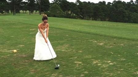 Cuando esta novia dijo que lo querría para siempre se refería también al vestido