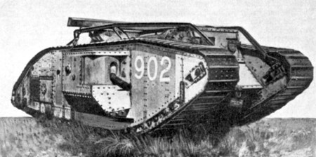 British Mark V Star Tank