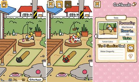 Neko Atsume Kitty Collector Juegos De Movil Relajantes