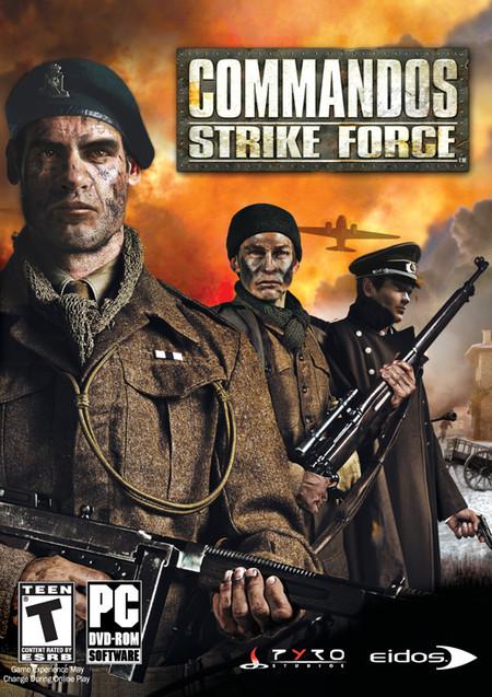 Commandos Strike Force Pc Us 2006 Front