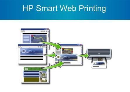 Imprimiendo la web con HP Smart Web Printing