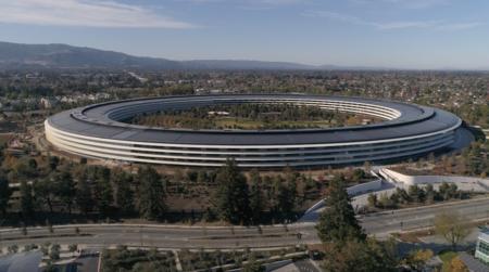 Se acabaron las obras: el Apple Park ya luce como lo veíamos en el proyecto
