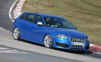 El Audi RS3 ya se prueba en Nürburgring