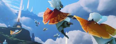 Jugando a Sky: Children of the Light: lo nuevo de Jenova Chen, creador de Journey, huele a maravilla y fascinación