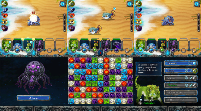 Runemals, Battles of Collectible Pets Somewhere between Pokemon and Candy Crush