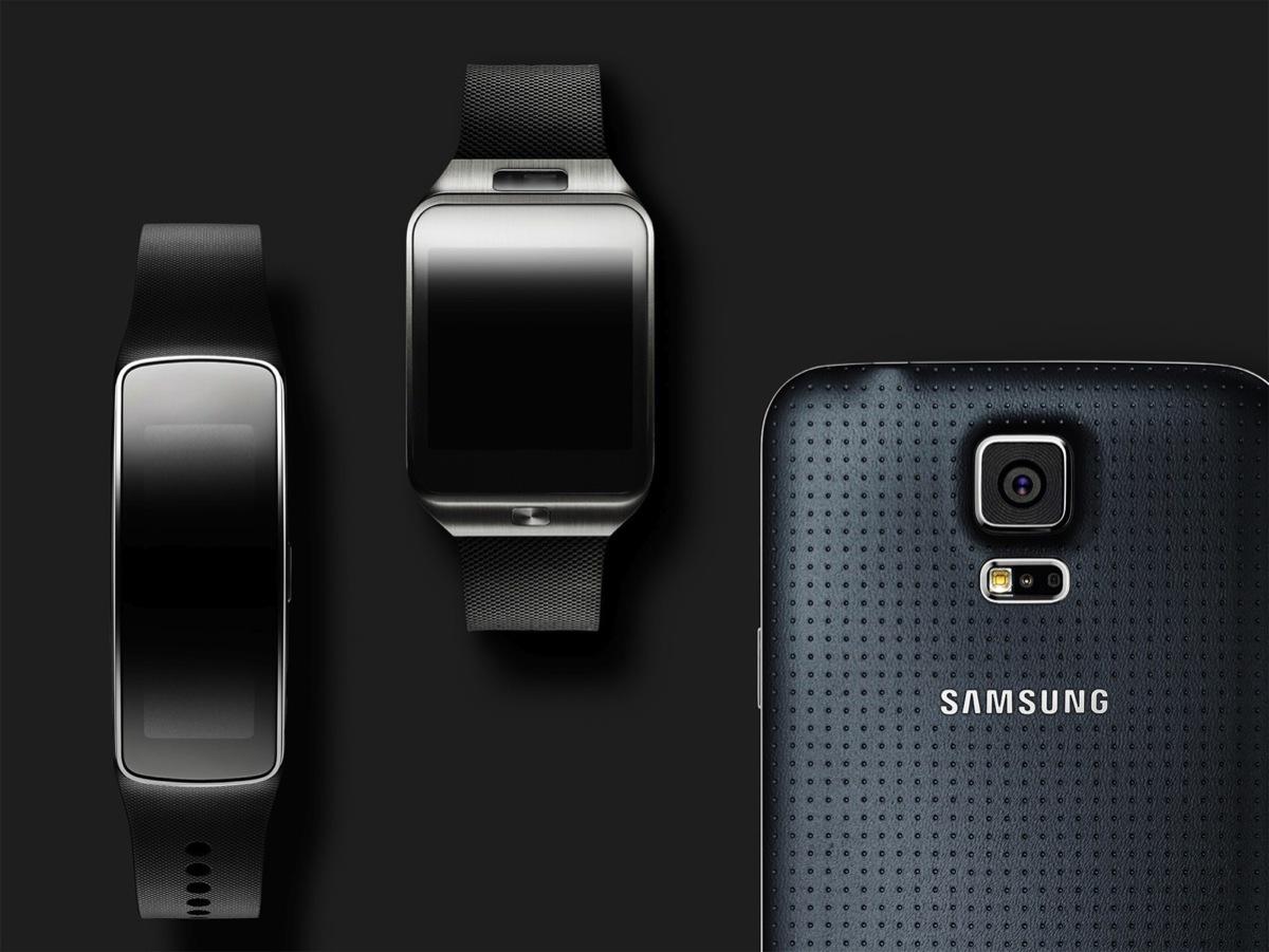 Samsung Gear Fit, imágenes oficiales