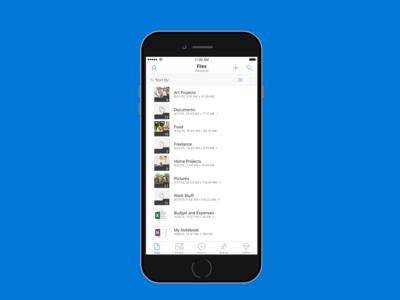 OneDrive se ha rediseñado por completo en iOS: escaner PDF, carpetas offline, mejoras para compartir y más funciones