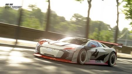 """El Audi e-tron Vision Gran Turismo es un """"race taxi"""" eléctrico de 805 CV que se hará realidad"""