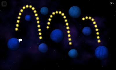 ORBB, retándonos a saltar entre planetas para recoger estrellas