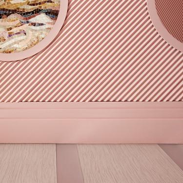 Una buena idea: la tendencia de los zócalos que doblan el alto tradicional en interiores