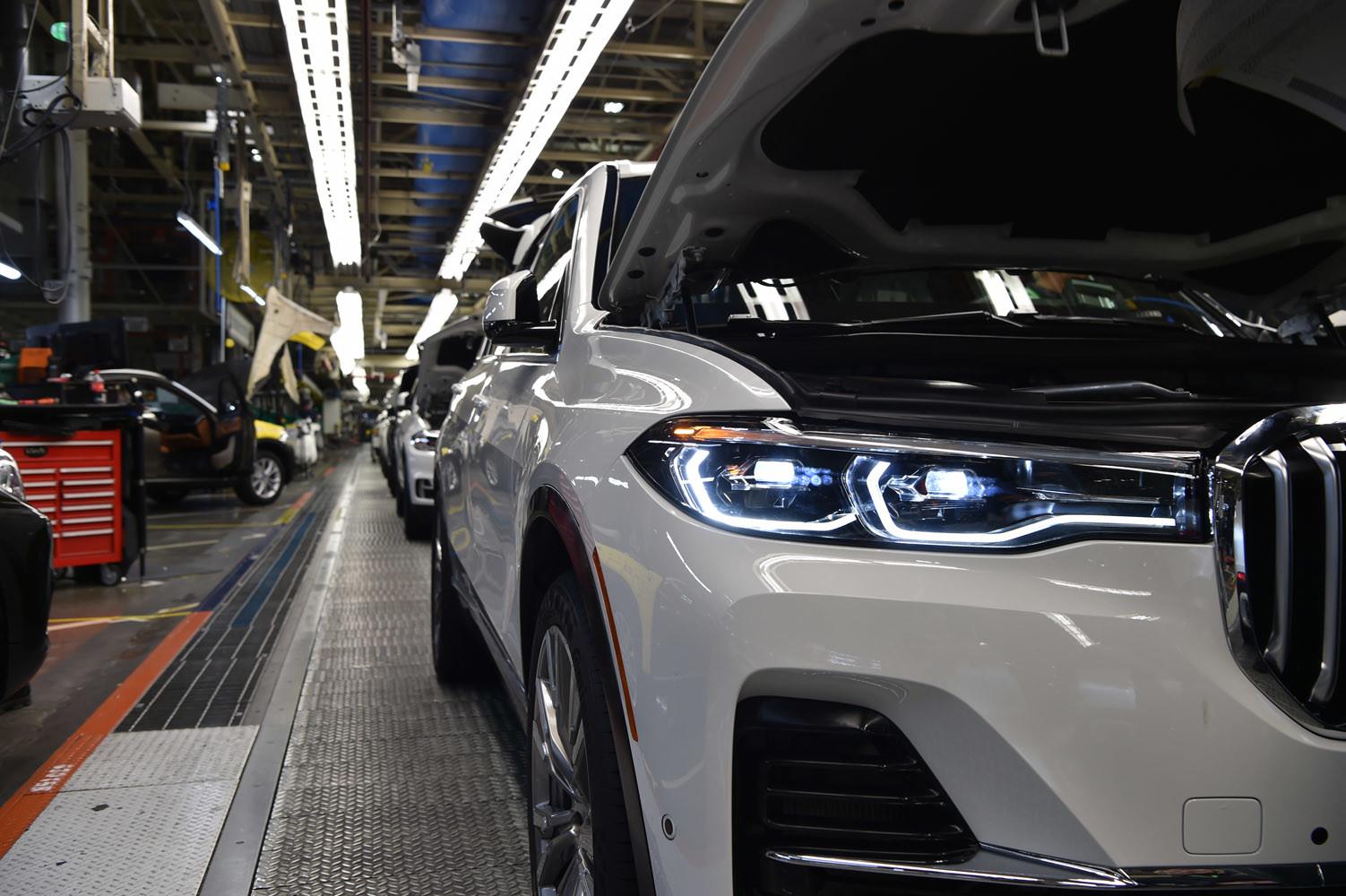Foto de BMW X7, primeras unidades preserie (17/33)
