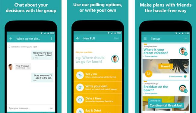 Microsoft quiere que hagas planes con Tossup aunque no tengas Windows Phone